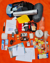 obsah evakuačního balíčku